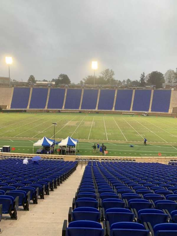 Wallace Wade Stadium, section: 27, row: Z, seat: 2