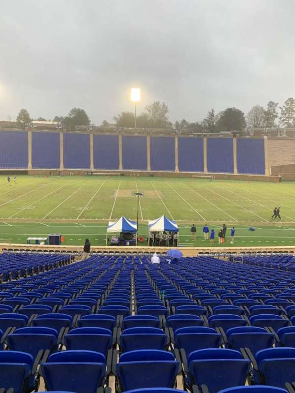 Wallace Wade Stadium, section: 26, row: Y, seat: 14
