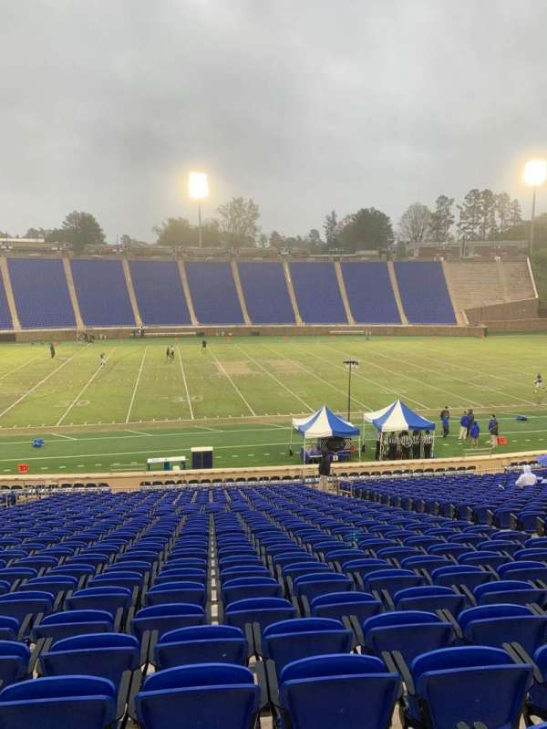 Wallace Wade Stadium, section: 26, row: W, seat: 15