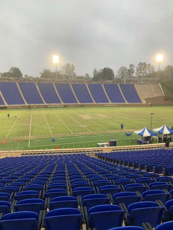 Wallace Wade Stadium, section: 25, row: W, seat: 11