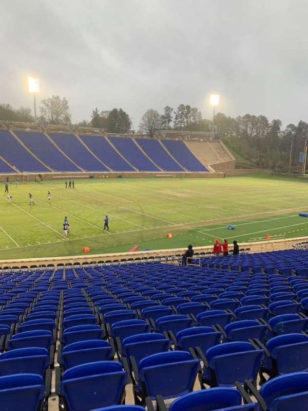 Wallace Wade Stadium, section: 22, row: S, seat: 16