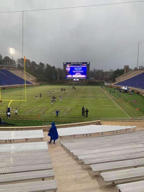 Wallace Wade Stadium, section: 18, row: P, seat: 3