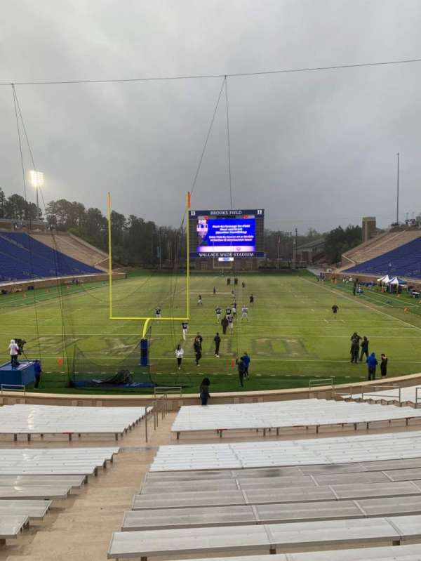Wallace Wade Stadium, section: 17, row: O, seat: 4