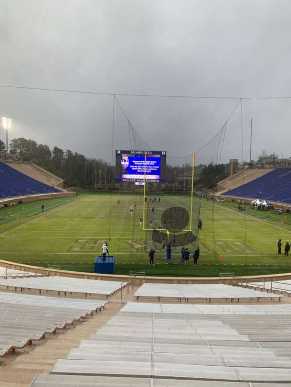 Wallace Wade Stadium, section: 16, row: U, seat: 8