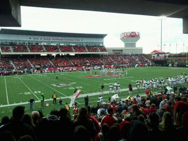 L. T. Smith Stadium, section: 133, row: 34, seat: 20