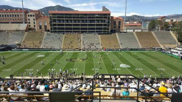 Folsom Field, section: 218, row: 56, seat: 36