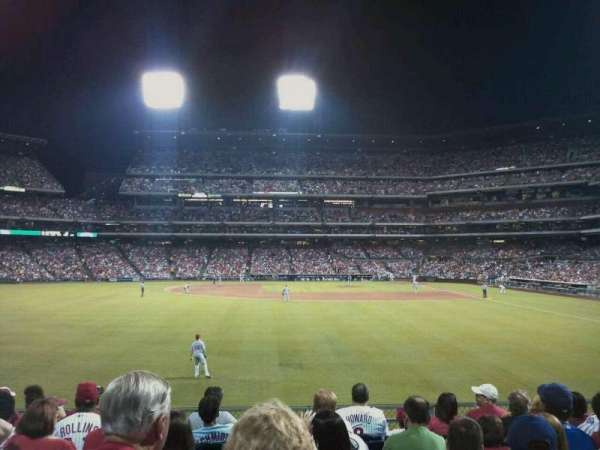 Citizens Bank Park, section: 143, row: 9, seat: 14