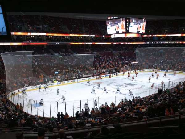 Wells Fargo Center, section: Club Box 10, row: 3, seat: 2