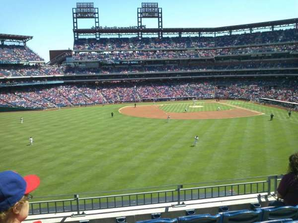 Citizens Bank Park, section: 244, row: 5, seat: 16