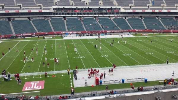 Lincoln Financial Field, section: C20, row: 4, seat: 22