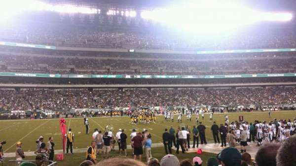 Lincoln Financial Field, section: 137, row: 7, seat: 20