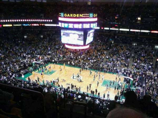 TD Garden, section: Bal 315, row: 27, seat: 18
