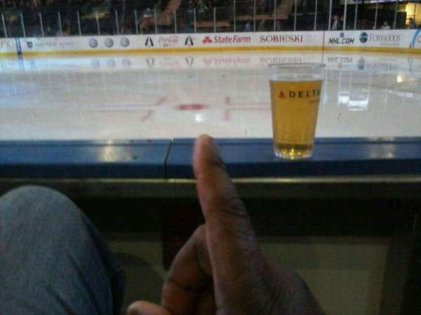 Madison Square Garden, section: rinkside VIP, row: AA, seat: 8