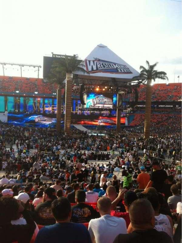 Hard Rock Stadium, section: Old 130, row: 21, seat: 8