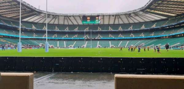Twickenham Stadium, section: L14, row: 2, seat: 103