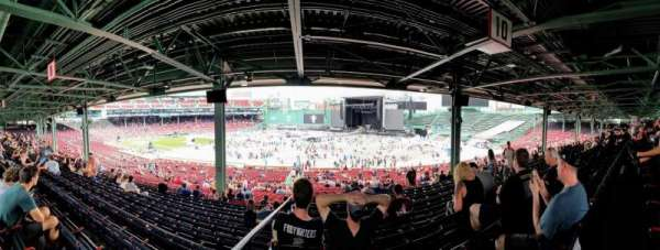 Fenway Park, section: Grandstand 10, row: 12, seat: 12