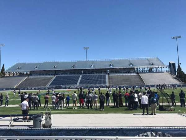 Mackay Stadium, section: C, row: 1, seat: 7