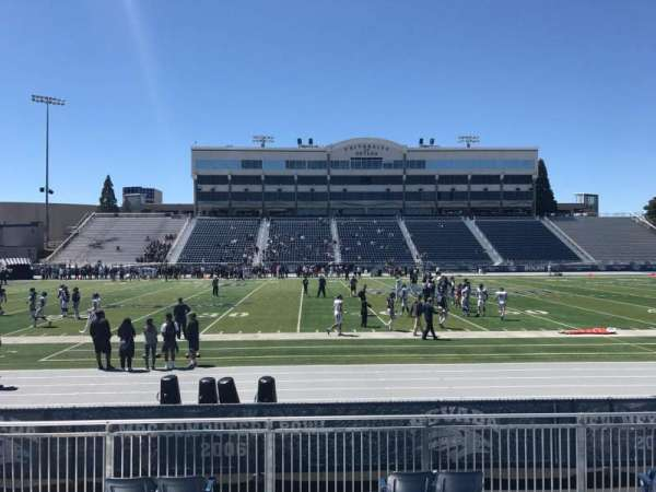 Mackay Stadium, section: K, row: 4, seat: 23