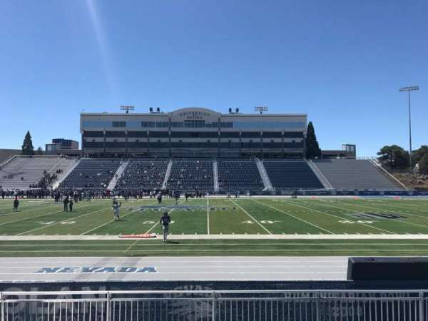 Mackay Stadium, section: J, row: 4, seat: 27