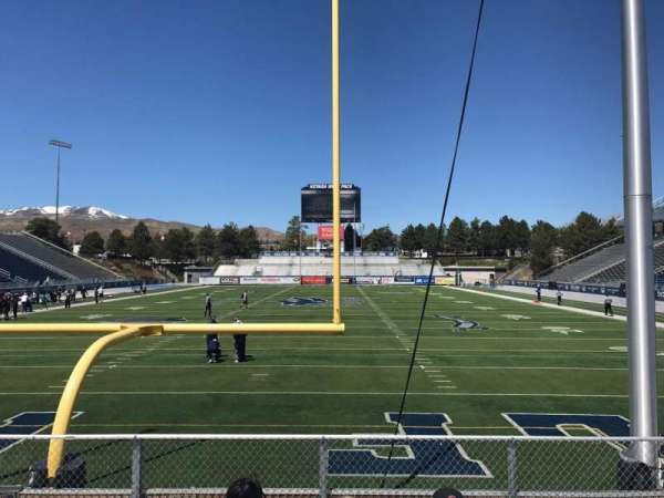 Mackay Stadium, section: Bleachers, row: 5, seat: Center Sec