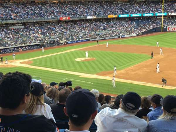 Yankee Stadium, section: 214a, row: 9, seat: 1