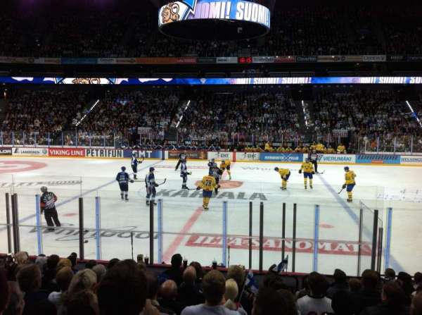 Hartwall Arena, section: 118, row: 11, seat: 109