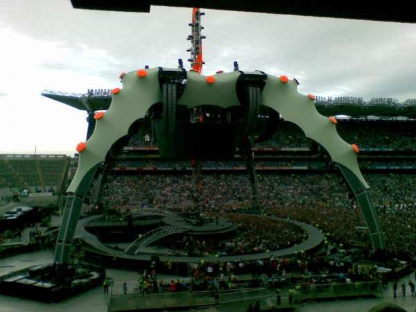 Croke Park, section: 536, row: H, seat: 2