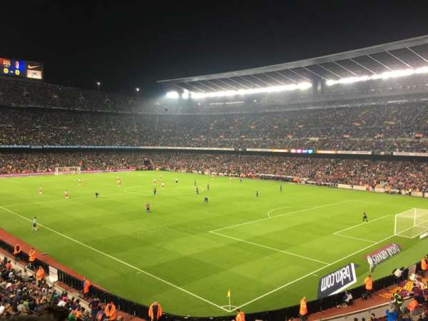 Camp Nou, section: 238, row: 3, seat: 12
