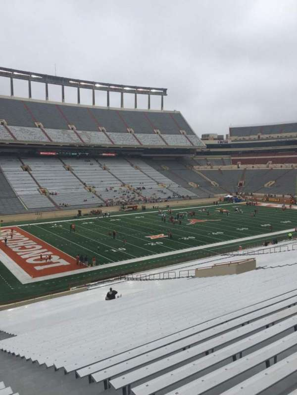 Texas Memorial Stadium, section: 32, row: 51, seat: 25