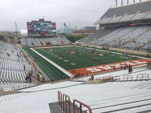 Texas Memorial Stadium, section: 18, row: 51, seat: 25