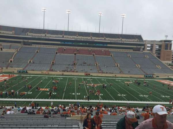 Texas Memorial Stadium, section: 6, row: 51, seat: 25