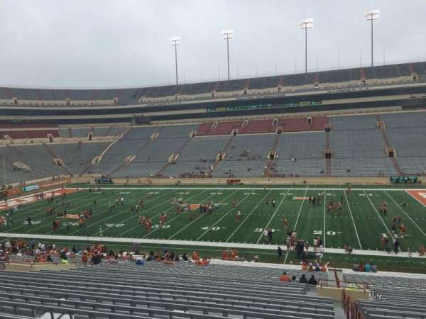 Texas Memorial Stadium, section: 4, row: 51, seat: 25