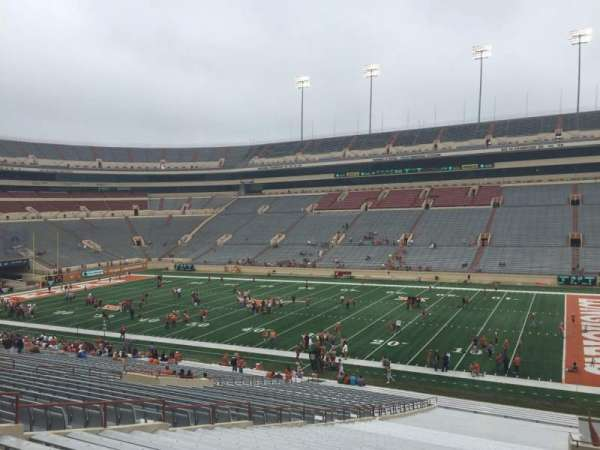 Texas Memorial Stadium, section: 2, row: 51, seat: 10