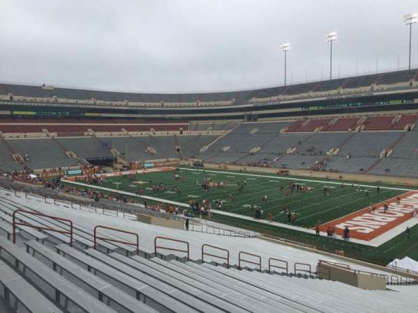 Texas Memorial Stadium, section: 1, row: 51, seat: 1