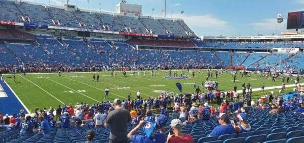 Highmark Stadium, section: 115, row: 27, seat: 21
