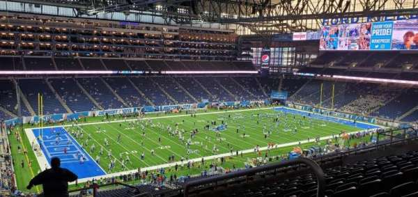 Ford Field, section: 326, row: 9, seat: 20