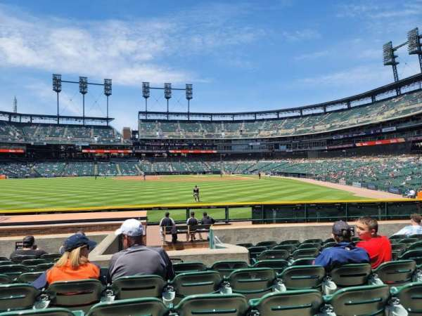 Comerica Park, section: 147, row: J, seat: 9