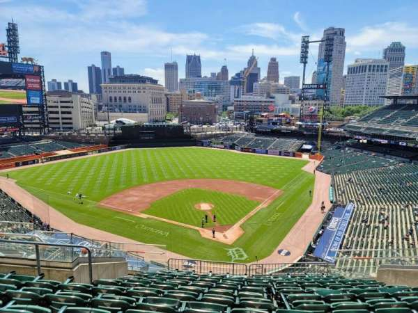 Comerica Park, section: 329, row: 11, seat: 13