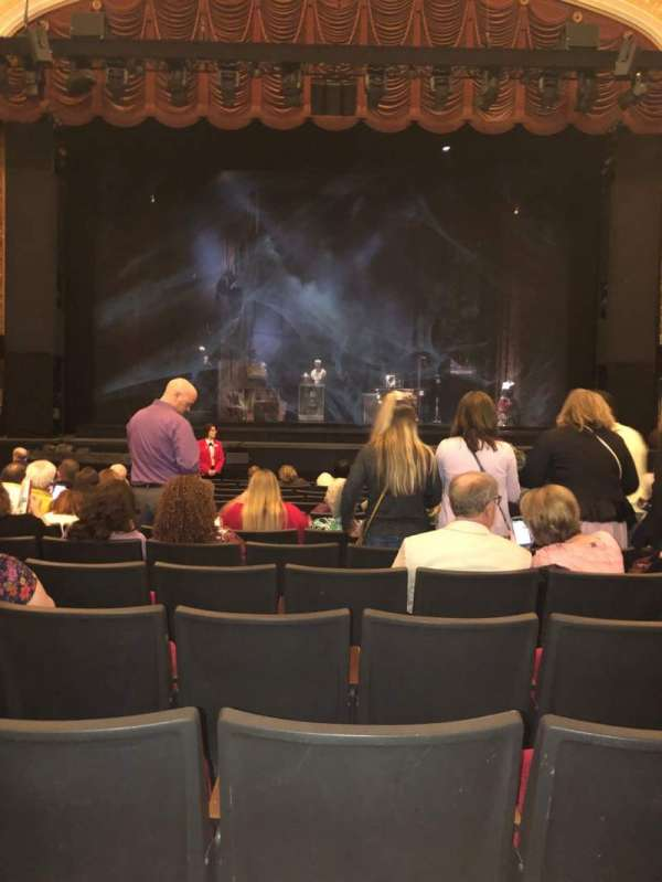 KeyBank State Theatre, section: Orch, row: U, seat: 208