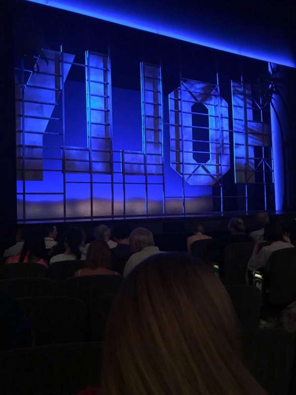 Nederlander Theatre, section: Orchestra L, row: H, seat: 7