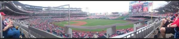 Nationals Park, section: 227, row: A, seat: 18