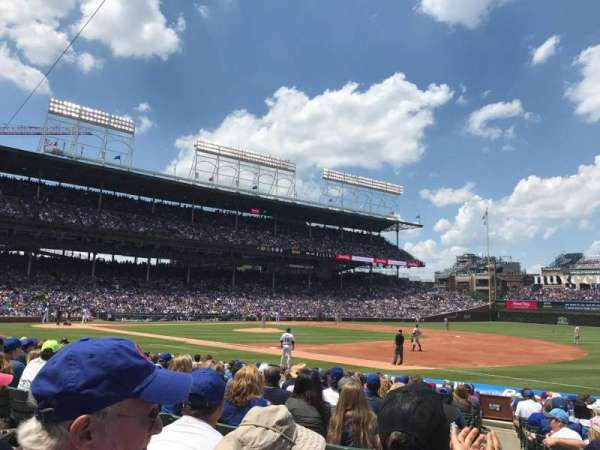 Wrigley Field, section: 127, row: 3, seat: 13