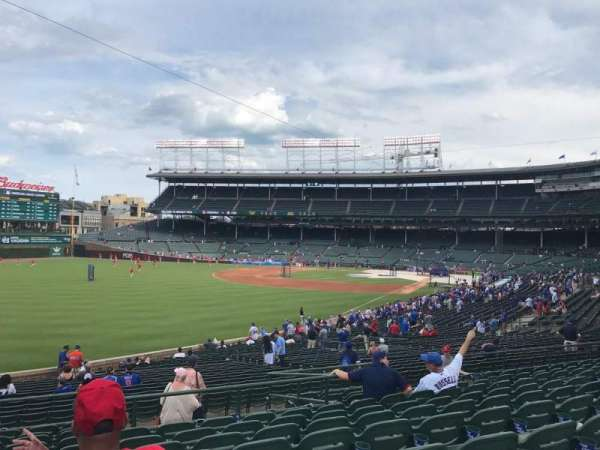Wrigley Field, section: 203, row: 11, seat: 5