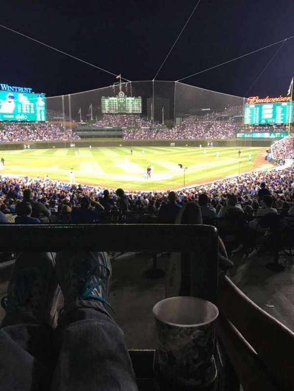 Wrigley Field, section: 216, row: 4, seat: 16