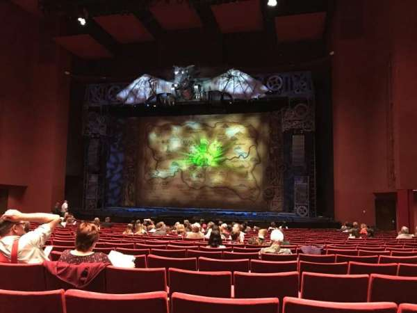 San Diego Civic Theatre, section: Orch2, row: S, seat: 28