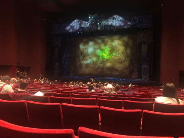 San Diego Civic Theatre, section: Orch2, row: S, seat: 32