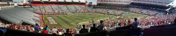 Williams-Brice Stadium, section: 101
