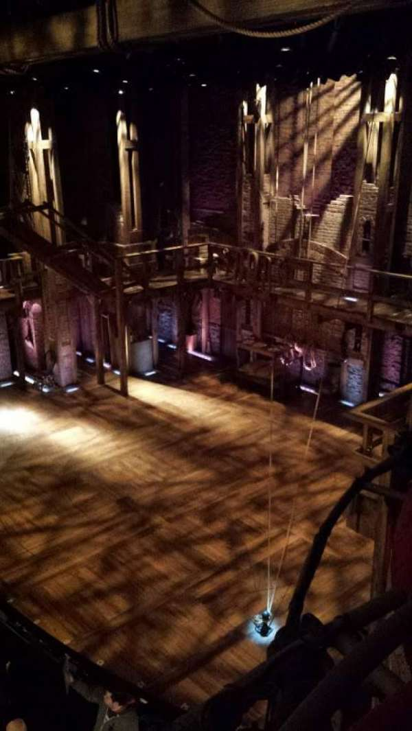 Richard Rodgers Theatre, section: Box H, row: 1, seat: 4