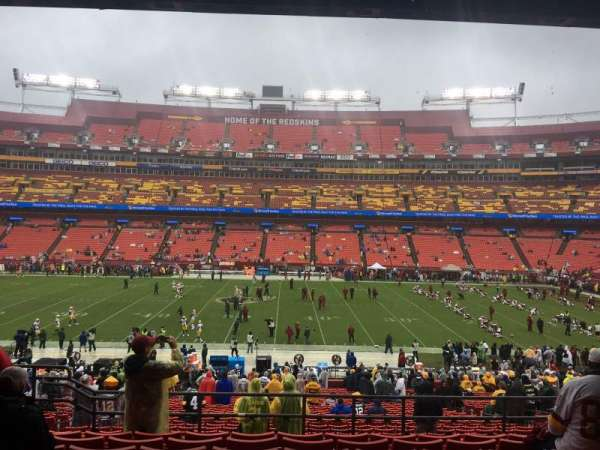 FedEx Field, section: 221, row: 8, seat: 14
