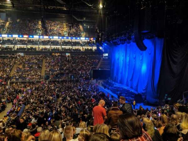 The O2 Arena, section: 112, row: A, seat: 40